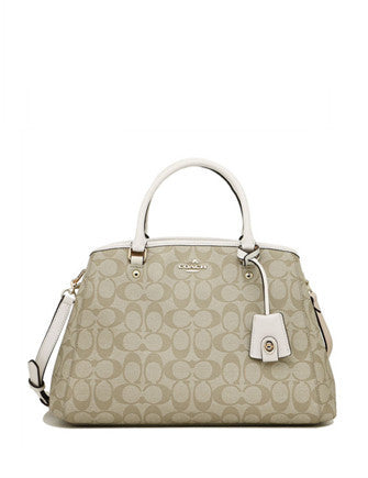 Coach Margot Signature Carryall Satchel