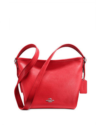Coach Mini Dufflette in Pebble Leather