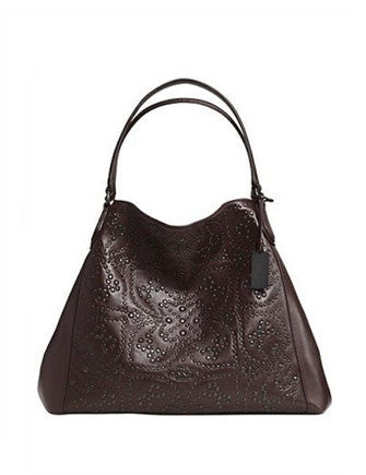 Coach Mini Stud Large Edie Shoulder Bag