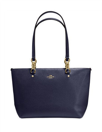 Coach Sophia Small Tote in Pebble Leather