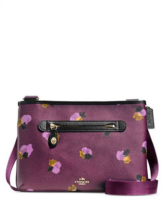 Coach Taylor Crossbody in Floral Print Coated Canvas