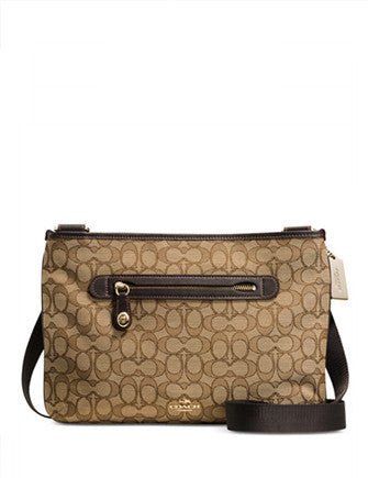 Coach Taylor Crossbody in Signature Canvas