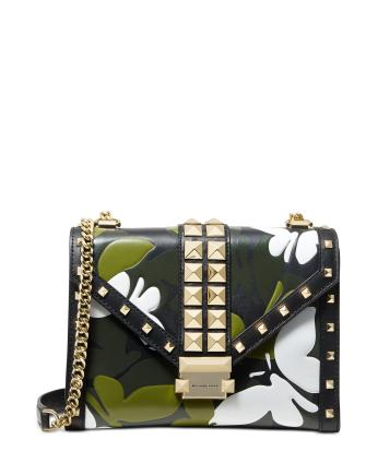 Michael Michael Kors Camo Butterfly Whitney Bag