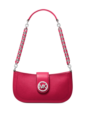 Michael Michael Kors Carmen Leather Shoulder Bag