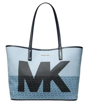 Michael Michael Kors Carter Denim MK Open Tote