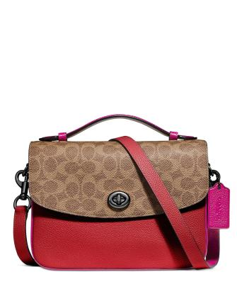 Coach Cassie Crossbody In Signature Blocking