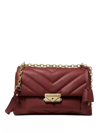 Michael Michael Kors Cece Chevron Quilted Leather Crossbody