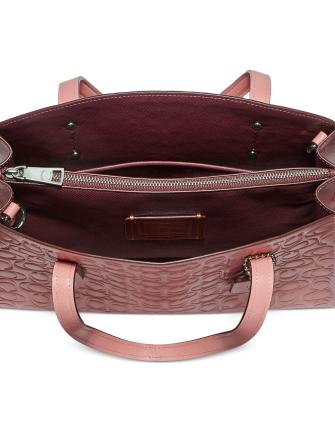 Coach Charlie Carryall 28 in Signature Leather