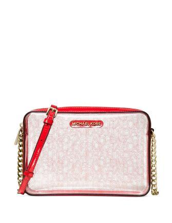 Michael Michael Kors Clear Logo East West Crossbody