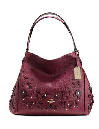Coach Willow Floral Edie 31 Shoulder Bag