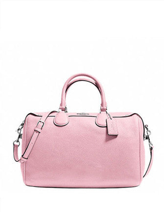 Coach Bennett Satchel in Pebble Leather