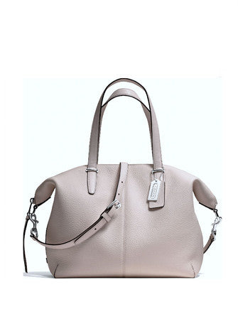 Coach Bleecker Leather Cooper Satchel