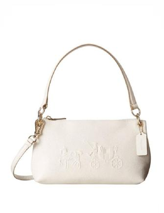 Coach Charley Embossed Horse and Carriage Top Handle Crossbod