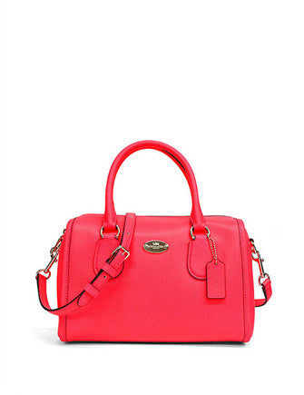 Coach Neon Crossgrain Bennett Mini Satchel
