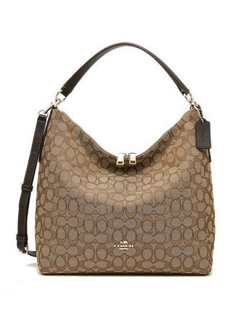 Coach Outline Signature Celeste Convertible Hobo