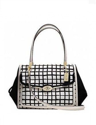 Coach Madison Graphic Print Madeline Satchel