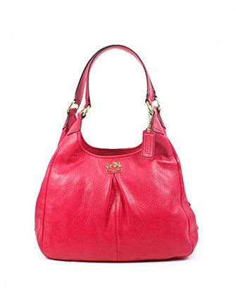 Coach Madison Leather Maggie Hobo Bag