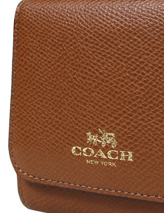Coach Rainbow ColorBlock Trifold Snap Wallet