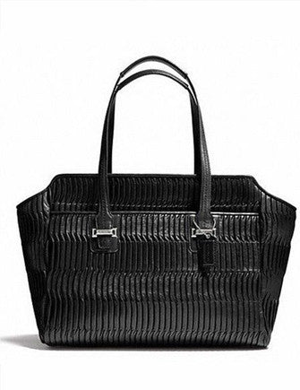 Coach Taylor Gathered Leather Alexis Carryall