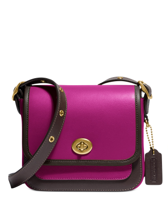 Coach Colorblock Rambler Crossbody Bag