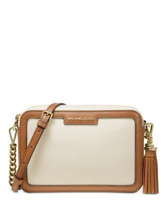 Michael Michael Kors Colorblock Leather Camera Small Bag