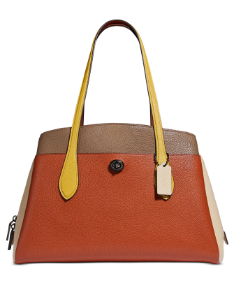 Coach Colorblocked Lora Carryall