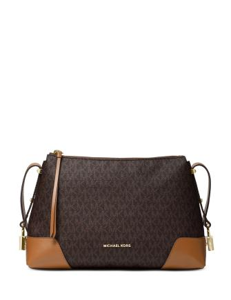 Michael Michael Kors Crosby Signature Messenger Shoulder Bag