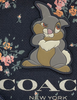 Coach Disney X Gallery Pouch With Rose Bouquet and Thumper