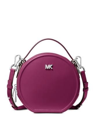 Michael Michael Kors Delaney Leather Canteen Crossbody
