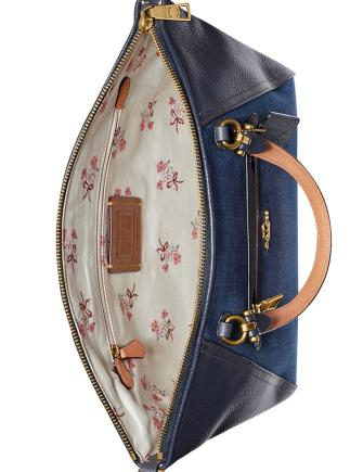 Coach Denim Prairie Satchel