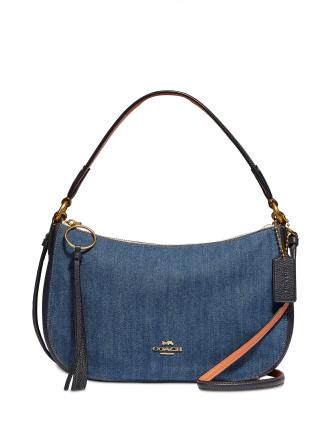 Coach Denim Sutton Crossbody