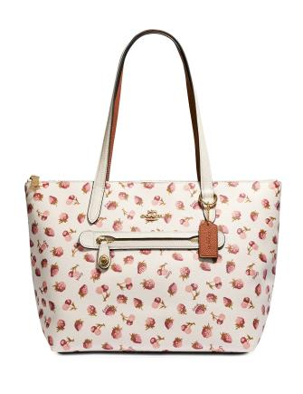 Coach Fruit Print Taylor Tote