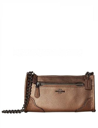 Coach Grain Leather Mickie Crossbody