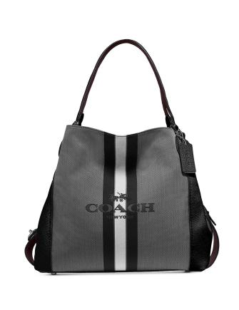 Coach Horse And Carriage Jacquard Edie 31 Shoulder Bag