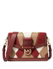 Michael Michael Kors Jessie Large Flap Leather Shoulder Bag
