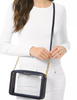 Michael Michael Kors Jet Set East West Clear Logo Crossbody