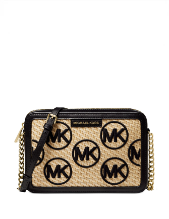 Michael Michael Kors Jet Set East West Logo Crossbody