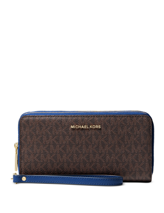 Michael Michael Kors Jet Set Large Double Zip Around Wristlet