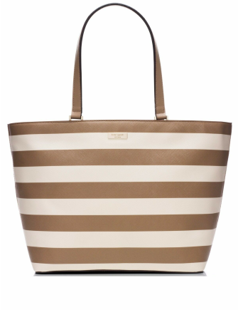 Copy of Kate Spade New York Grant Street Jules Grainy Vinyl Striped Tote