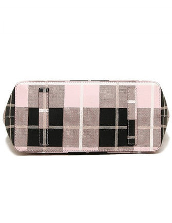 Kate Spade New York Newbury Lane Jules Plaid Print Tote