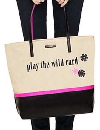 Kate Spade New York Bon Shopper Play The Wild Card Tote
