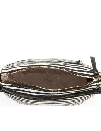 Kate Spade New York Cobble Hill Stripe Small Ella Shoulder Bag
