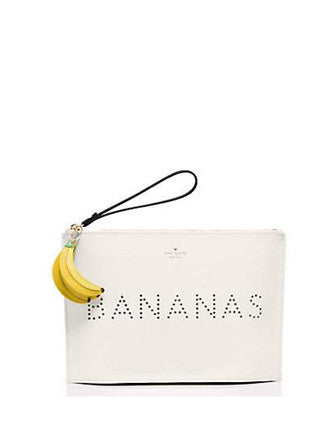 Kate Spade New York Flights of Fancy Bananas Pouch