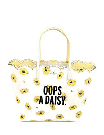 Kate Spade New York Scalloped Len Down the Rabbit Hole Tote