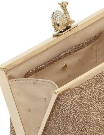 Kate Spade New York Queen of the Nile Pave Camel Clutch