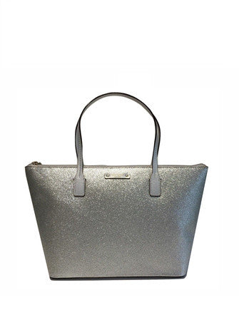 Kate Spade New York Haven Lane Hani Glitter Zip Tote