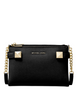 Michael Michael Kors Karla Leather East West Crossbody