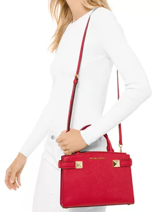 Michael Michael Kors Karla Small East West Leather Satchel
