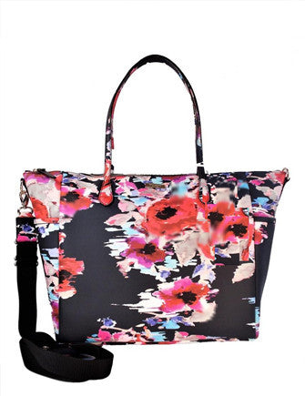 Kate Spade New York Laurel Way Floral Printed Adaira Baby Bag