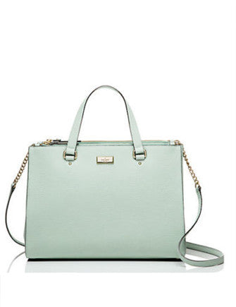 Kate Spade New York Bristol Drive Loden Python Embossed Satchel